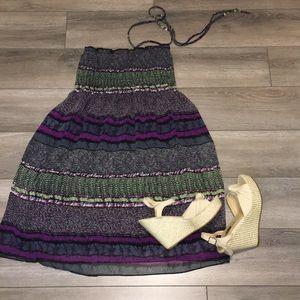 Spring mini dress